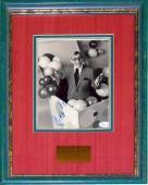 George Burns Autographed Framed 8x10 Photo (JSA)