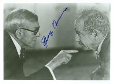 George Burns Signed - Autographed Vintage 8x10 Photo - Deceased 1996