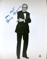 George Burns Bas Beckett Authentication Coa Hand Signed 8x10 Photo Autograph