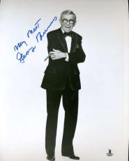 George Burns Bas Beckett Authentication Coa Hand Signed 8x10 Photo Autograph