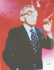 GEORGE BURNS Comedian Signed Autographed 8x10 Color PHOTO w/ PSA DNA Coa