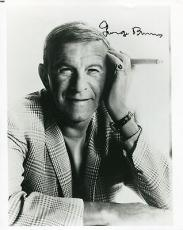 GEORGE BURNS HAND SIGNED 8x10 PHOTO+COA       AWESOME POSE WITH CIGAR