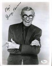 George Burns Jsa Coa Hand Signed 8x10 Photo Authenticated Autograph