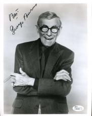 George Burns Jsa Coa Hand Signed 8x10 Photo Authenticated Autograph