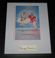 George Burns Oh God! You Devil Signed Framed 11x14 Photo Display