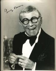 George Burns Psa/dna Signed 8x10 Photo Authenticated Autograph