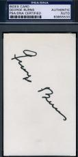 George Burns Signed 3x5 Index Card Psa/dna Certified Authentic Autograph