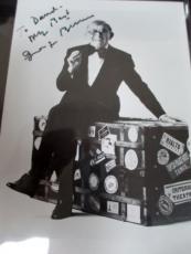 GEORGE BURNS SIGNED 4x6 PHOTO JSA COA