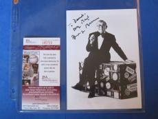 GEORGE BURNS SIGNED 5X7 PHOTO ~ JSA Cert I85733 ~