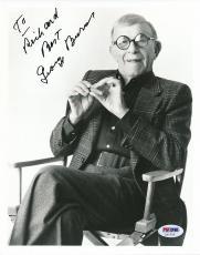 George Burns Signed 8x10 Photo Autograph Auto PSA/DNA Z11722