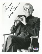 George Burns Signed 8x10 Photo Autograph Auto PSA/DNA Z11722