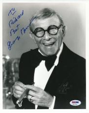 George Burns Signed 8x10 Photo Autograph Auto PSA/DNA Z11723