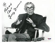 George Burns Signed 8x10 Photo Autograph Auto PSA/DNA Z11725