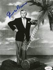 George Burns Signed 8x10 Photo Autograph Jsa #d84657