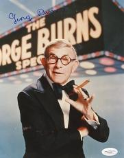 George Burns Signed 8X10 Photo Autograph JSA #F47841