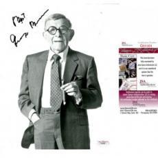 George Burns Signed 8x10 Photo JSA