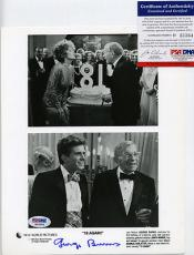 George Burns Signed 8x10 Photo Movie 18 Again PSA DNA #H33364 Autographed