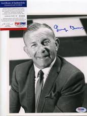 George Burns Signed 8x10 Photo PSA DNA #H33365 Autographed Burns and Allen