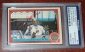 George Burns Signed Auto'd Psa/dna Sgt Peppers Lonely Hearts Club Band Card #14