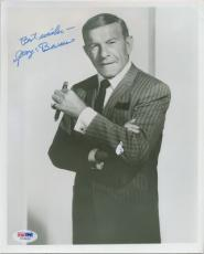 George Burns Signed Autographed PSA DNA 8x10 Photo