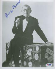 GEORGE BURNS SIGNED AUTOGRAPHED PSA DNA #I34039 PHOTO 8x10