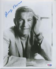 GEORGE BURNS SIGNED AUTOGRAPHED PSA DNA #I34044 Plaid Jacket 8x10 PHOTO