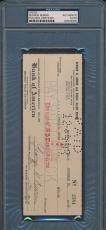 George Burns Signed Check PSA/DNA Certified Authentic Auto Autograph *9980