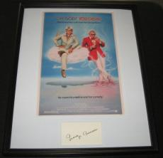 George Burns Signed Framed 16x20 Oh God You Devil Photo Poster Display
