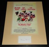 George Burns Signed Framed 16x20 Photo Poster Display Going in Style