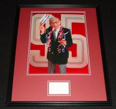 George Burns Signed Framed 16x20 Poster Photo Display B