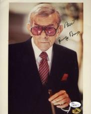 George Burns Signed Jsa Certed 8x10 Photo Authenticated Autograph