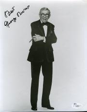 George Burns Signed Jsa Certed 8x10 Photo Autograph