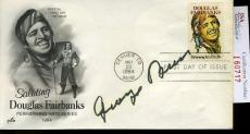 George Burns Signed Jsa Certed Fdc Authentic Autograph