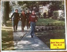 George Burns Signed Jsa Certed Just Me And You Kid Lobby Card Autograph