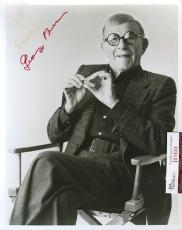 George Burns Signed Jsa Certified 8x10 Photo Authentic Autograph