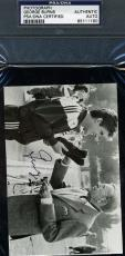 George Burns Signed Psa/dna Certed 5x7 Photo Authentic Autograph