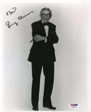 George Burns Signed Psa/dna Certified 8x10 Photo Authenticated Autograph