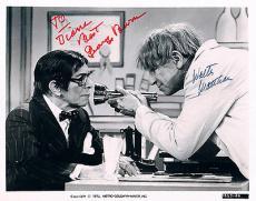 George Burns Walter Matthau Signed Auto Psa Dna 8x10 Photo V04725