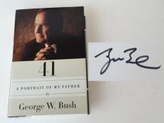 "GEORGE BUSH Signed ""A Portrait of My Father Book"" JSA M42442"