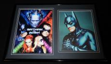 George Clooney 12x18 Framed Batman & Robin Photo & Poster Set