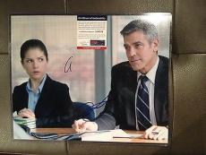 GEORGE CLOONEY ANNA KENDRICK AUTOGRAPHED UP IN THE AIR 11X14 PHOTO w PSA DNA COA