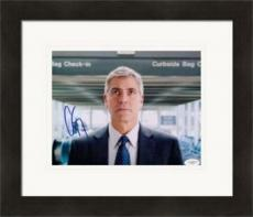 George Clooney autographed 8x10 Photo (Actor) JSA Image #1 Matted & Framed