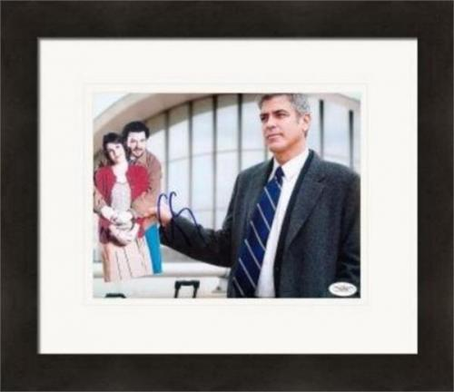 George Clooney autographed 8x10 Photo (Actor) JSA Image #2 Matted & Framed