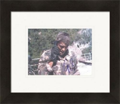 George Clooney autographed 8x10 Photo (Actor, Peacemaker) Matted & Framed