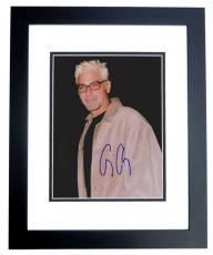 George Clooney Autographed 8x10 Photo BLACK CUSTOM FRAME