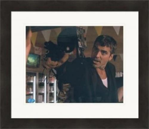 George Clooney autographed 8x10 photo (Dusk Till Dawn) #SC1 Matted & Framed