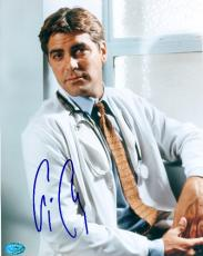 George Clooney autographed 8x10 Photo (ER Doctor Actor) Image #2
