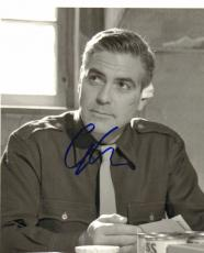 George Clooney Autographed BnW Photo UACC RD PSA/DNA