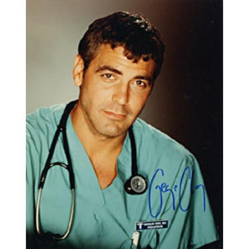 George Clooney Autographed Celebrity 8x10 Photo