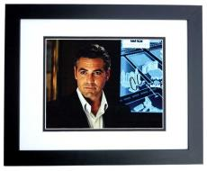 George Clooney Signed - Autographed OCEANS 11 11x14 inch Photo BLACK CUSTOM FRAME - Guaranteed to pass PSA or JSA